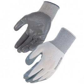 Light material handling gloves sanitized