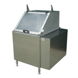 RBK3 rotating scalding tank for poultry