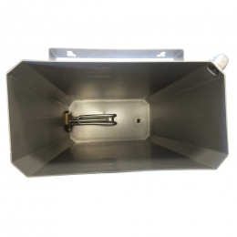Hot water knife sterilizer for 4 knives