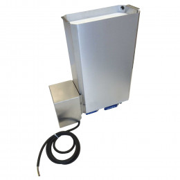 Hot water knife sterilizer for 8 knives