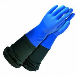 Hot water gloves